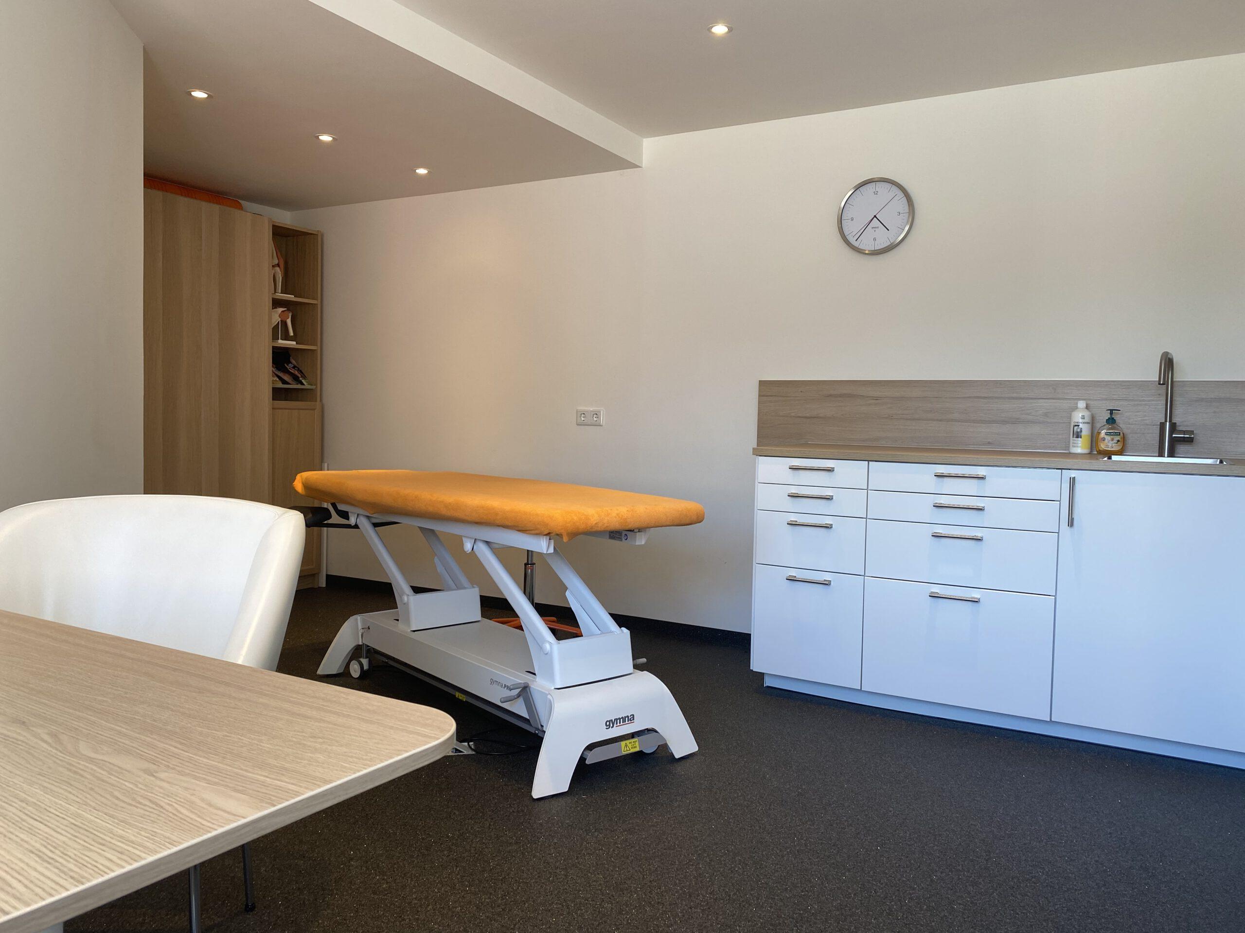 SportFysiotherapie van Lierop Praktijkruimte locatie Driel